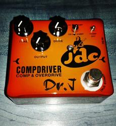 José de Castro signature pedal Compdriver